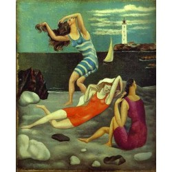 The Bathers by Pablo Picasso -oil painting art gallery