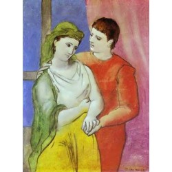 The Lovers by Pablo Picasso oil painting art gallery