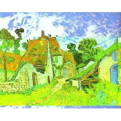 Copy of Village Street in Auvers by Vincent Van Gogh
