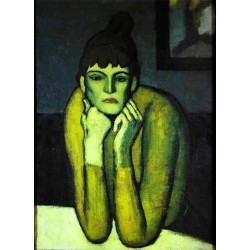 Woman with Chignon by Pablo Picasso oil painting art gallery