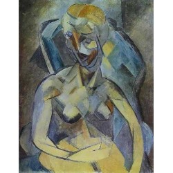 Young Woman by Pablo Picasso oil painting art gallery