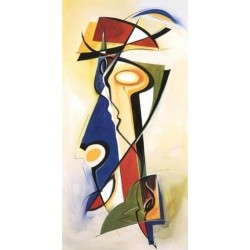 Abstract Ab10368 oil painting art gallery