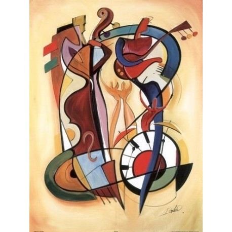Abstract Ab10382 oil painting art gallery