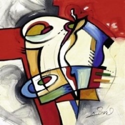 Abstract Ab10596 oil painting art gallery