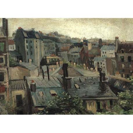 Daken in Paris by Vincent Van Gogh