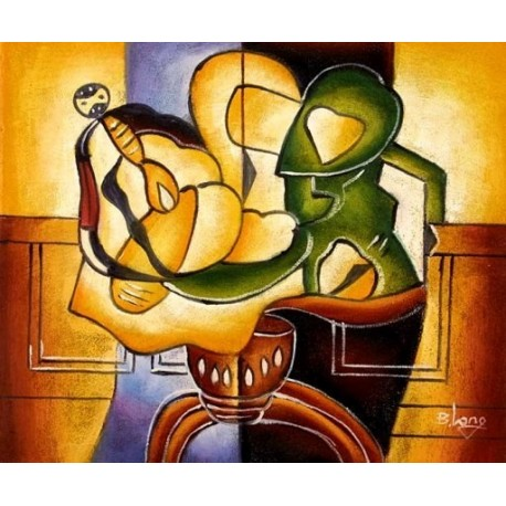 Abstract Ab11534 oil painting art gallery