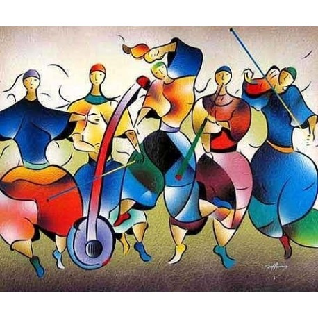 Abstract Ab20048 oil painting art gallery
