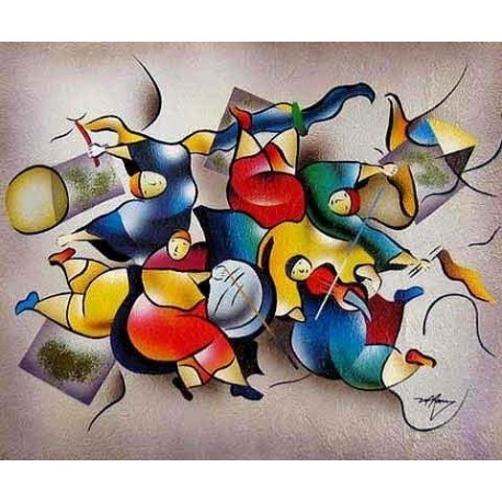 Abstract Ab20049 oil painting art gallery