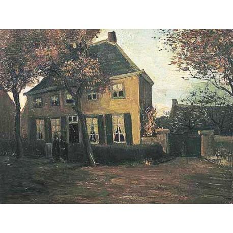 De pastorie te Nuenen by Vincent Van Gogh