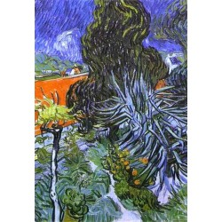 Dr  Gachet Garden by Vincent Van Gogh