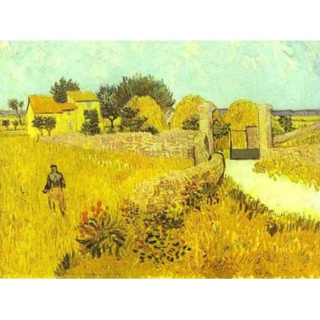 Farmhouse in Provence 2 by Vincent Van Gogh