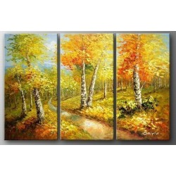 Landscape 2 - Oil Painting Abstract art Gallery