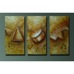 Music Abstract - Oil Painting Abstract art Gallery