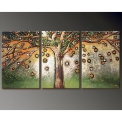 Falling Leaves | Oil Painting Abstract art Gallery