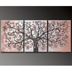 Pink Tree | Oil Painting Abstract art Gallery