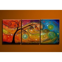 Tree Colors | Oil Painting Abstract art Gallery