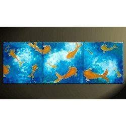Goldfish | Oil Painting Abstract art Gallery