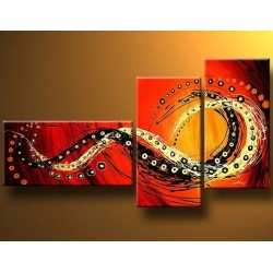 Red Wind | Oil Painting Abstract art Gallery