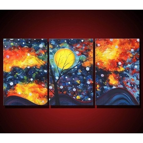 Sky Abstract Oil Painting On Sale