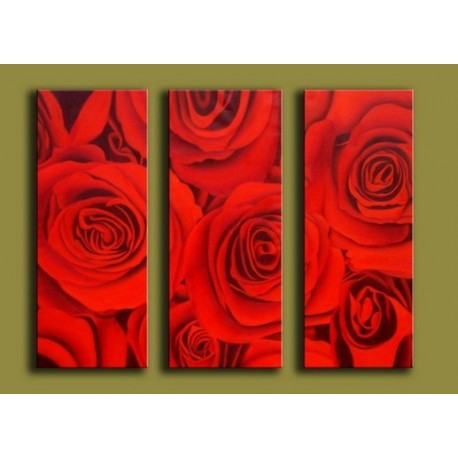 Red Roses | Oil Painting Abstract art Gallery