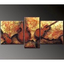 Musical Notes | Oil Painting Abstract art Gallery
