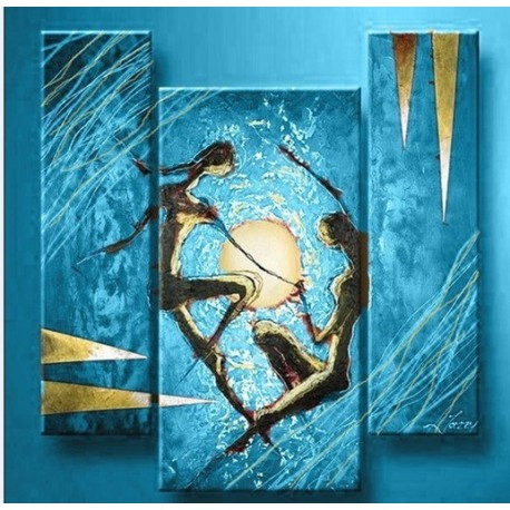 unity 2 oil painting abstract art gallery