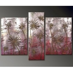 Desert Flowers | Oil Painting Abstract art Gallery