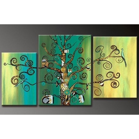 Green Tree | Oil Painting Abstract art Gallery