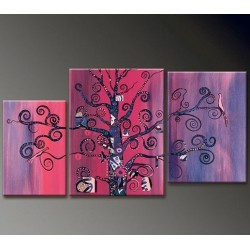 Purple Tree | Oil Painting Abstract art Gallery