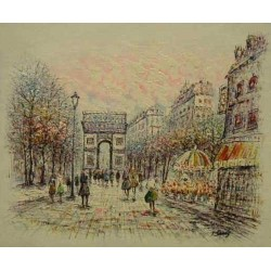 Paris EP007 oil painting art gallery