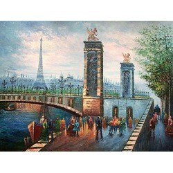 Paris EP011 oil painting art gallery