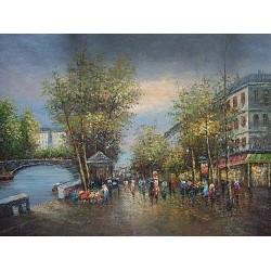 Paris EP012 oil painting art gallery