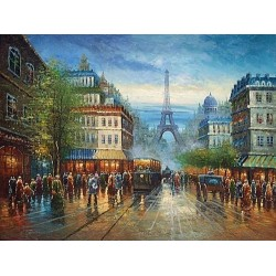 Paris EP013 oil painting art gallery