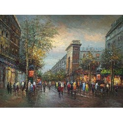 Paris EP014 oil painting art gallery