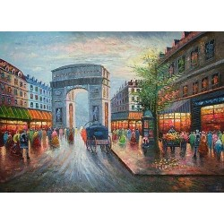 Paris EP015 oil painting art gallery