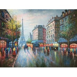Paris EP016 oil painting art gallery