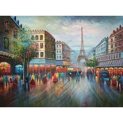Paris EP017 oil painting art gallery