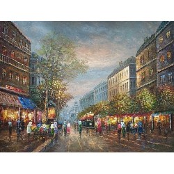 Paris EP018 oil painting art gallery