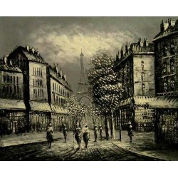 Paris EP021 oil painting art gallery