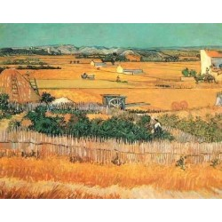 Harvest Landscape 2 by Vincent Van Gogh - Art gallery oil painting reproductions