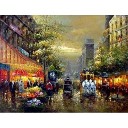 Paris EP028 oil painting art gallery