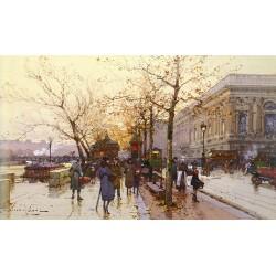 Paris Street Painting 005 oil painting art gallery