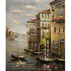 Venice 87006 oil painting art gallery