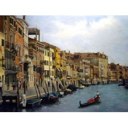Venice Painting 002 oil painting art gallery