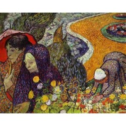 Ladies of Arles by Vincent Van Gogh - Art gallery oil painting reproductions