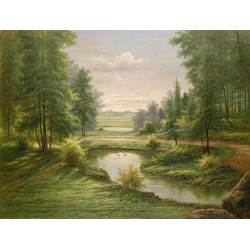Landscape 15-0002 oil painting art gallery