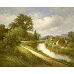 Landscape 15-0003 oil painting art gallery