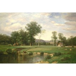 Landscape 15-0007 oil painting art gallery