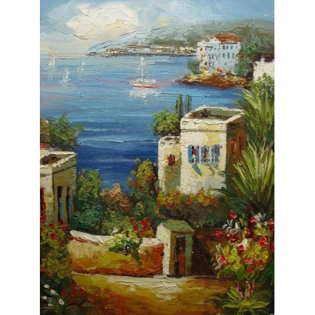 Mediterranean 7872 oil painting art gallery