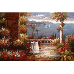 Mediterranean 8166 oil painting art gallery